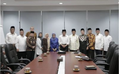 Pengurus BP4 masa bakti 2019-2024  Bersilaturrahmi dengan Menteri Agama